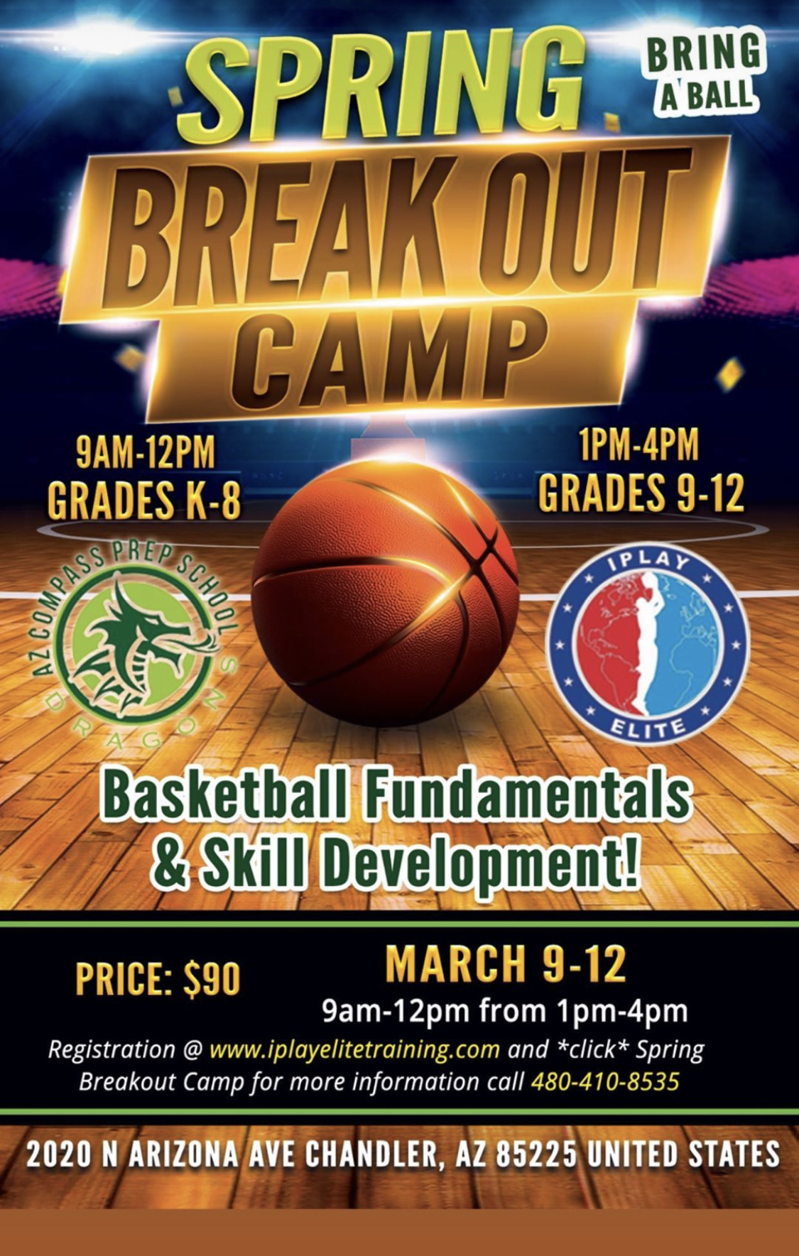 spring breakout camp
